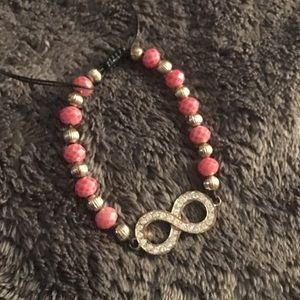 🌟SALE🌟Pink Infinity Bracelet